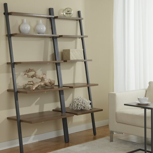 Jesper Office Parson Ladder Bookcase Wall