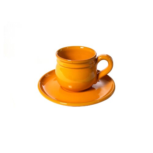 La Vita Vera Mamma Ro 2 Piece Demitasse and Saucer Set