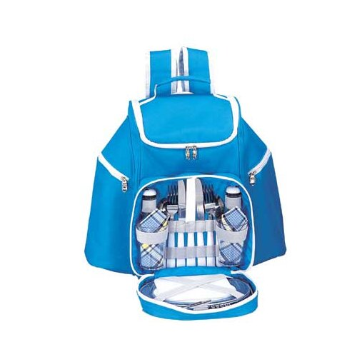 Skyline Picnic Backpack in Sky Blue
