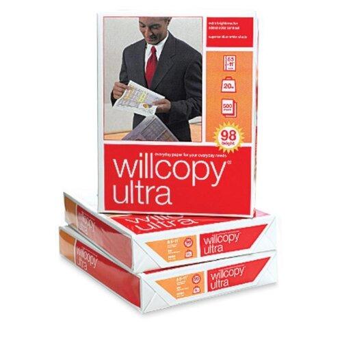 "Domtar High Quality 98 Brightness Copy Paper, Ultra 98, 8-1/2""x11"", 500 Sh/RM, White"