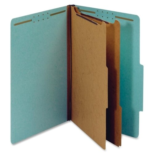 Globe Weis Pressboard Classification Folder (10 Per Box)