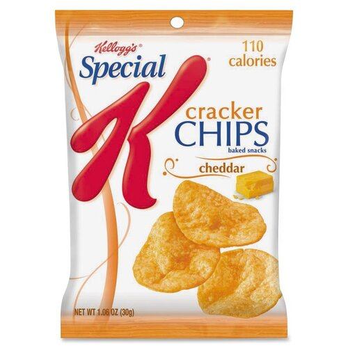 Kellogg's Cheddar Cheese Cracker Chips