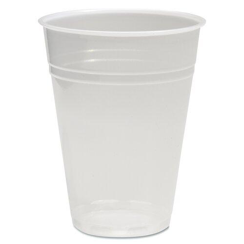 Boardwalk 1 oz. Translucent Plastic Hot/Cold Cups (Carton of 1,000)