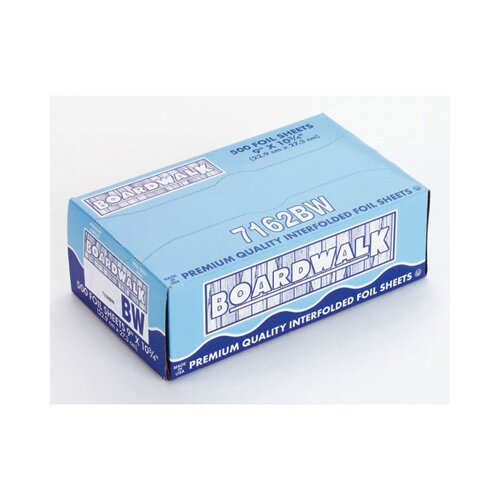 Boardwalk Pop-Up Aluminum Foil Wrap Sheet in Silver