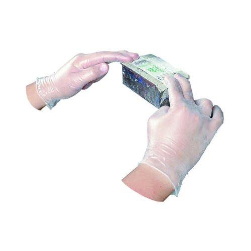 Impact Disposable Vinyl Powdered Large Gloves General Purpose