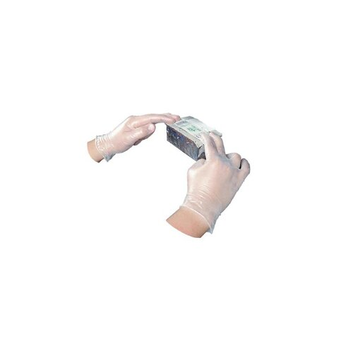 Impact Disposable Vinyl Powdered Extra Large Gloves General Purpose