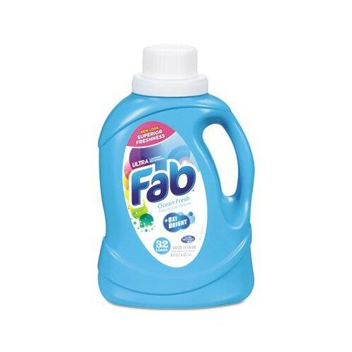 Phoenix Brands Ocean Fresh Fab Ultra 2X Liquid Laundry Detergent