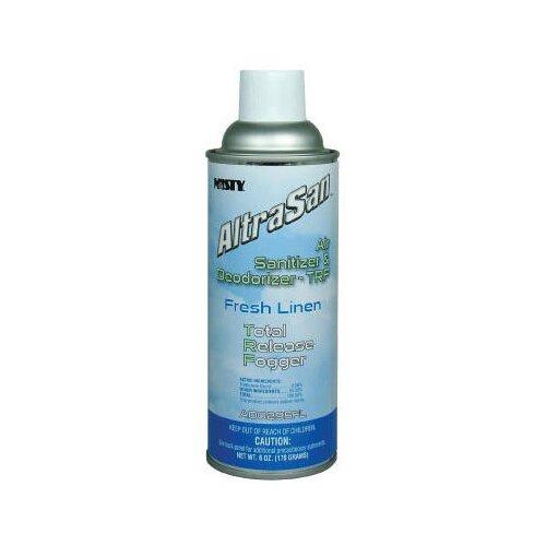 Misty AltraSan Air Sanitizer and Deodorizer Fresh Linen Scent Aerosol Can