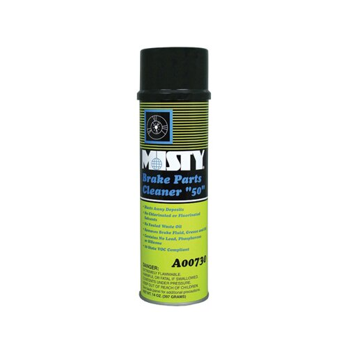 Misty Brake Parts 50 Cleaner Aerosol Can (12 per case)
