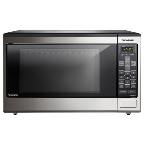 1.2 Cu. Ft. 1200W Genius Sensor Countertop / Built-In Microwave Oven with Inverter Technology