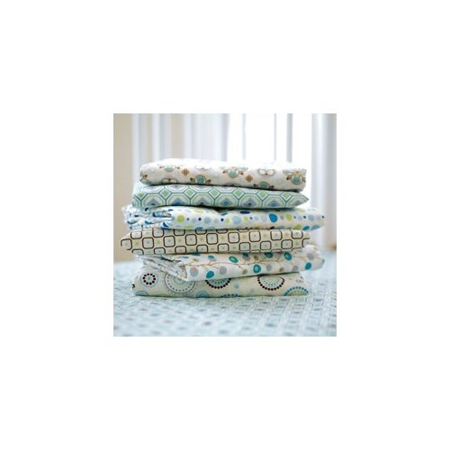 Caden Lane Classic Dot Pattern Crib Sheet