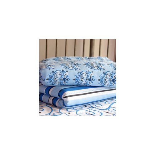 Luxe Small Damask Pattern Crib Sheet