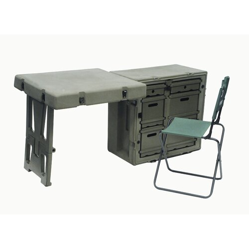 Pelican Hardigg Single Field Writing Desk