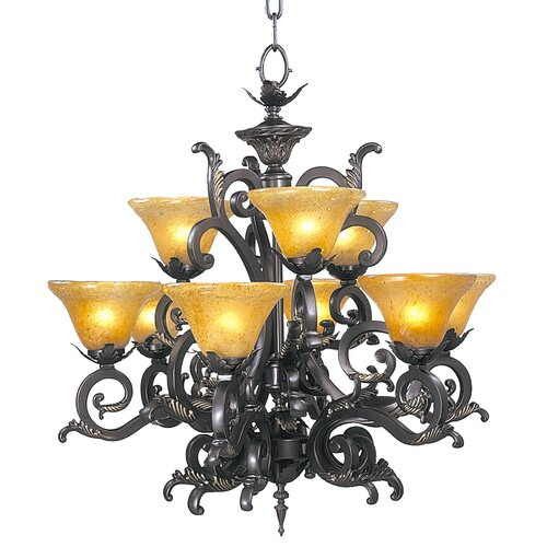 Palazzo 9 Light Dining Chandelier