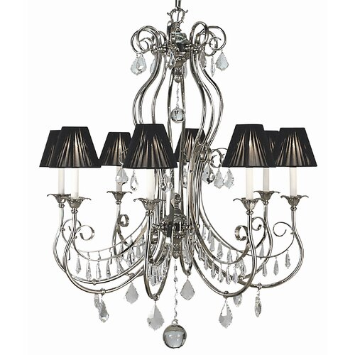 Framburg Contessa 8 Light Dining Chandelier
