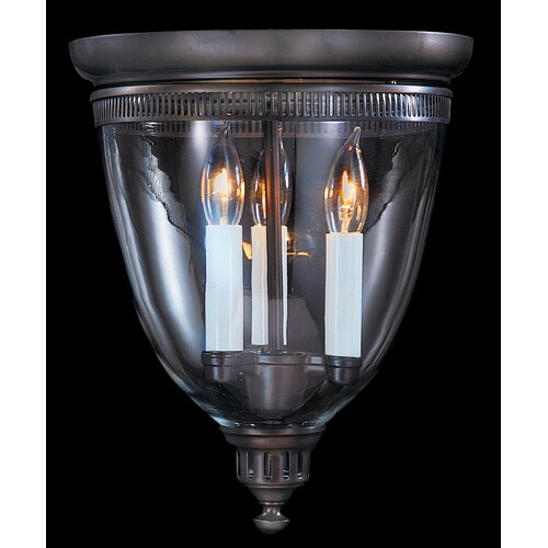 Framburg Independence Hall 3 Light Flush Mount