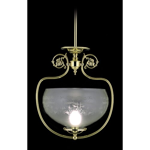 Chancery 1 Light Foyer Pendant