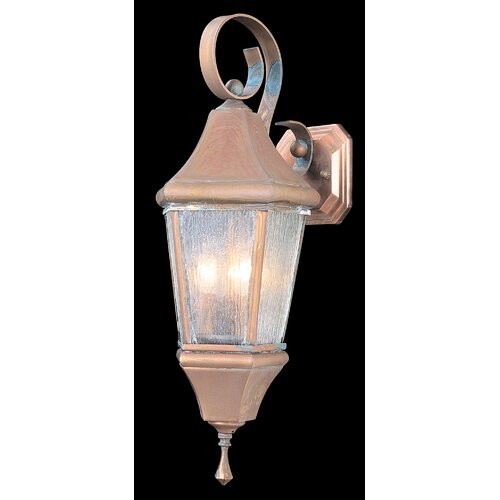Framburg Normandy 3 Light Outdoor Wall Lantern
