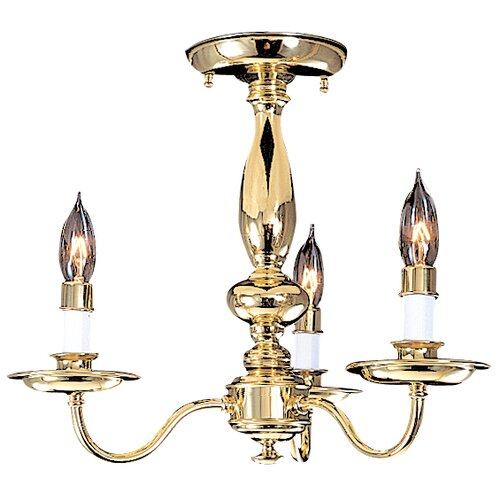 Framburg Jamestown 3 Light Chandelier