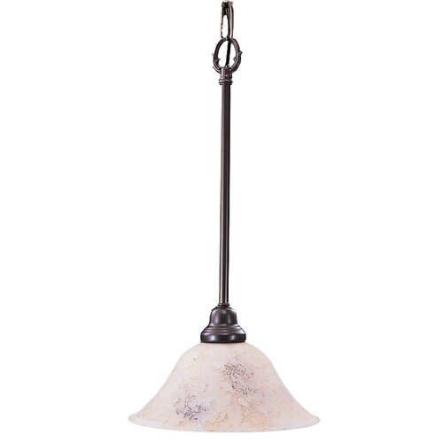Framburg Black Forest 1 Light Drum Pendant