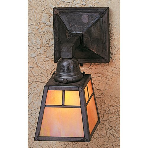 Arroyo Craftsman A-Line 1 Light Wall Sconce