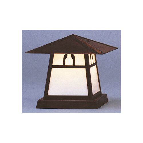"Arroyo Craftsman Carmel 1 Light 8"" Outdoor Post Lantern"