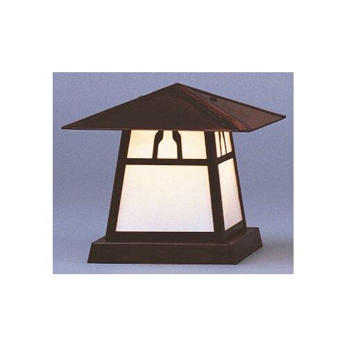 "Arroyo Craftsman Carmel 1 Light 8"" Outdoor Post Lantern"