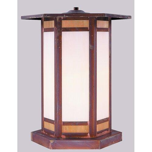 Arroyo Craftsman Etoile 1 Light Outdoor Post Lantern