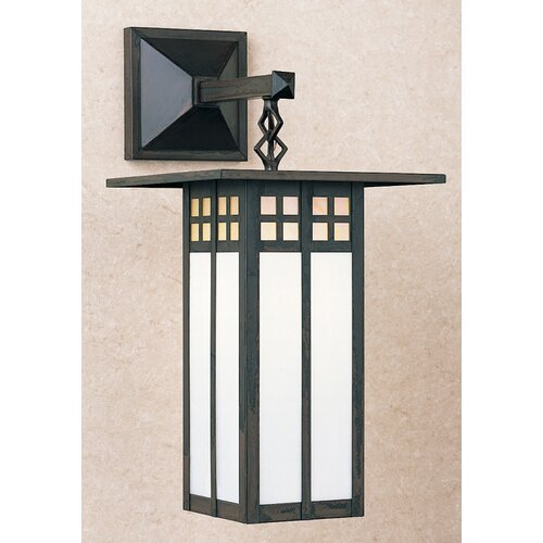 Arroyo Craftsman Glasgow 1 Light Outdoor Wall Lantern