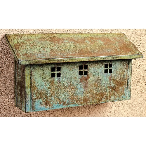 Arroyo Craftsman Glasgow Horizontal Wall Mounted Mailbox