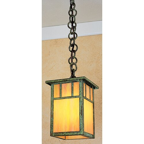 Arroyo Craftsman Huntington 1 Light Outdoor Hanging Lantern