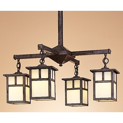 Arroyo Craftsman Mission 5 Light Chandelier
