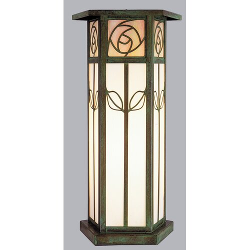 Arroyo Craftsman Saint Clair 1 Light Outdoor Post Lantern
