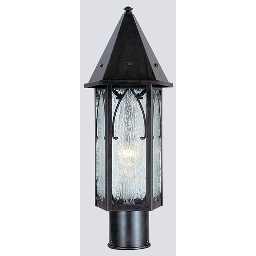 Arroyo Craftsman Saint George 1 Light Post Lantern