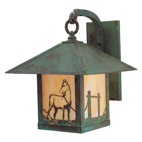 Arroyo Craftsman Timber Ridge 1 Light Outdoor Wall Lantern