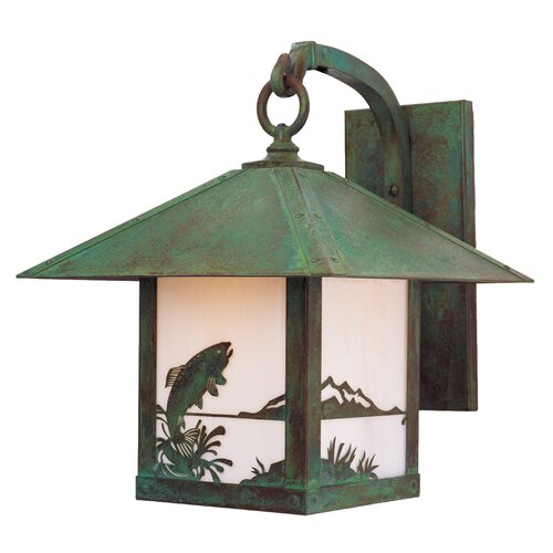 Arroyo Craftsman Timber Ridge 1 Light Outdoor Wall Lantern