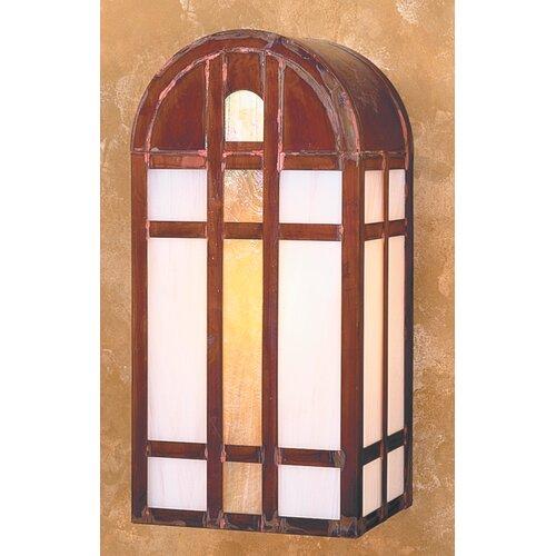 Arroyo Craftsman Yorktown 1 Light Outdoor Wall Sconce