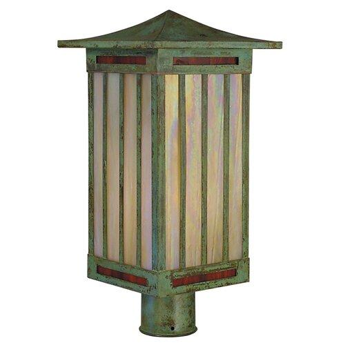 Arroyo Craftsman Himeji 1 Light Post Lantern