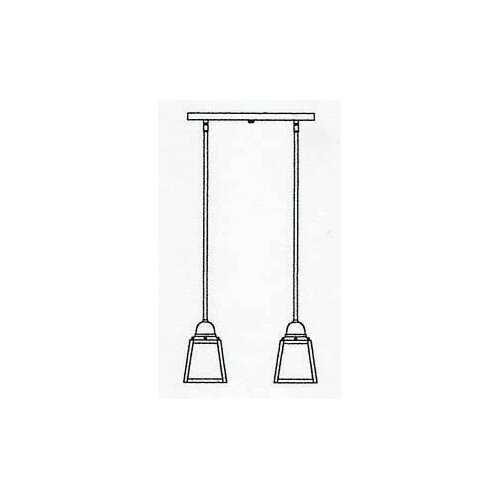 Arroyo Craftsman A-Line 2 Light Pendant