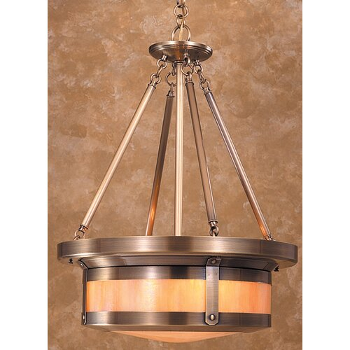 Berkeley 4 Light Drum Pendant