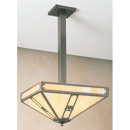 Arroyo Craftsman Pasadena 4 Light Foyer Pendant