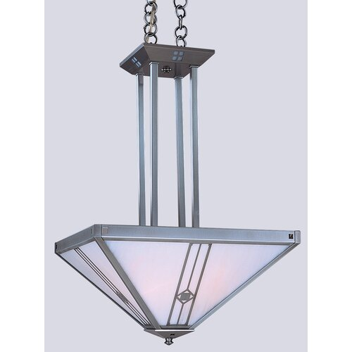 Utopian 4 Light Inverted Foyer Pendant
