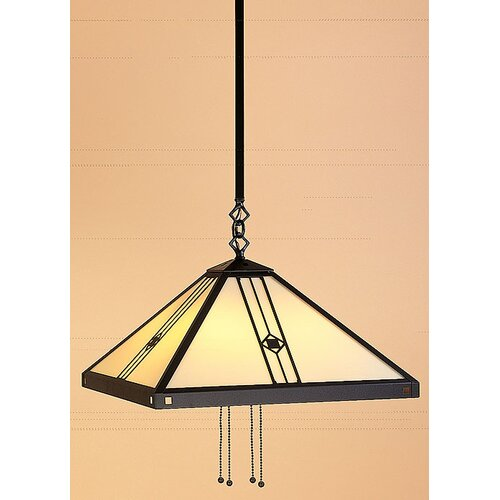 Arroyo Craftsman Utopian Stem Foyer Pendant