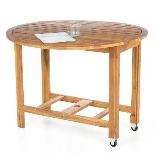 Atlantic Outdoor Round Folding Dining Table I