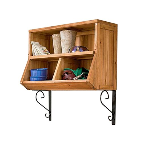 Atlantic Outdoor Wall Cubby with Brackets