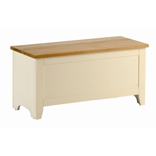 Kelburn Furniture Fanshawe Painted Blanket Box in Ivory