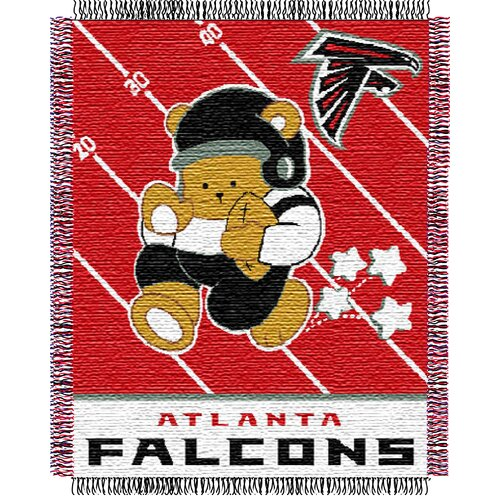 Northwest Co. NFL Baby Triple Woven Jacquard Throw
