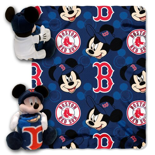 MLB Mickey Mouse Fleece Throw