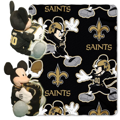 Northwest Co. NFL Mickey Mouse Fleece Throw