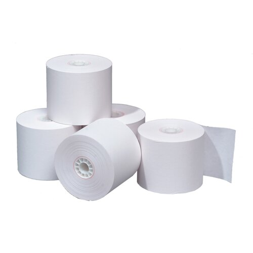 "TST Impreso 3.13"" x 230' Thermal POS Adding Machine and Calculator Roll (50 Rolls)"